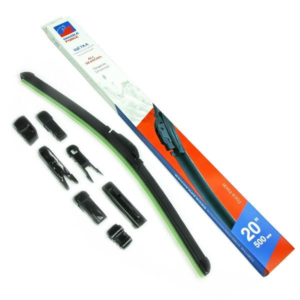 Щетка стеклоочистителя бескаркасная Double Force 500 мм (20) DFF20 купить в Абакане