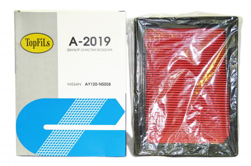 Фильтр воздушный TOP FILS A-2019 AY120-NS058 A-2019 купить в Абакане