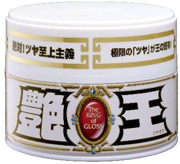 Полироль для кузова усиление блеска Soft99 The King of Gloss для светлых, 300 гр 00171 купить в Абакане