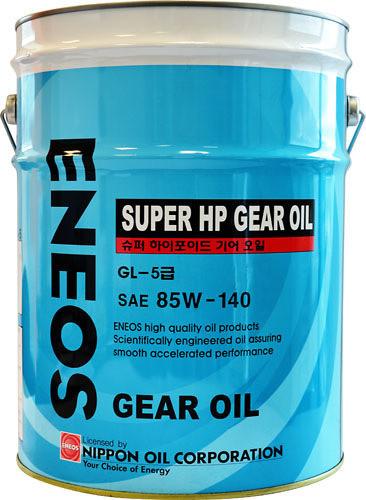 Масло трансмиссионное ENEOS GEAR GL-5 85W140 20л oil1371 купить в Абакане