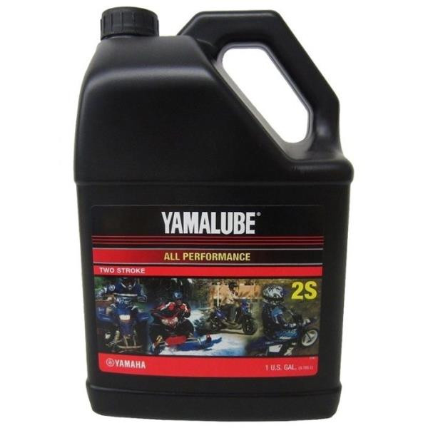 Мотороное масло Yamalube 2S, 2Т, Semisynthetic Oil (3, 78 л) LUB2STRKS104 купить в Владивостоке