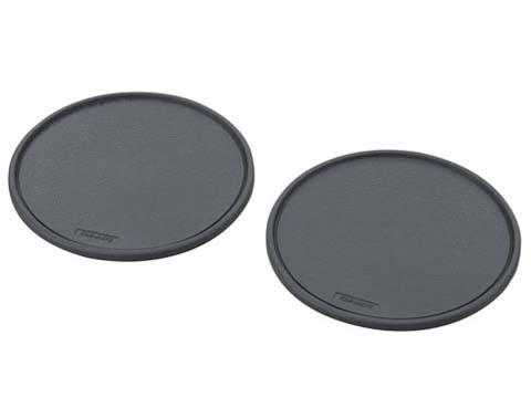Коврик противоскользящий Carmate Non Slip Sheet, круглый, с бортом, диаметр 65 мм, 2 шт., черный SZ134 купить в Абакане