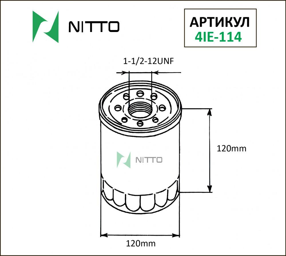 Фильтр масляный Nitto 4IE-114 4IE-114 купить в Абакане