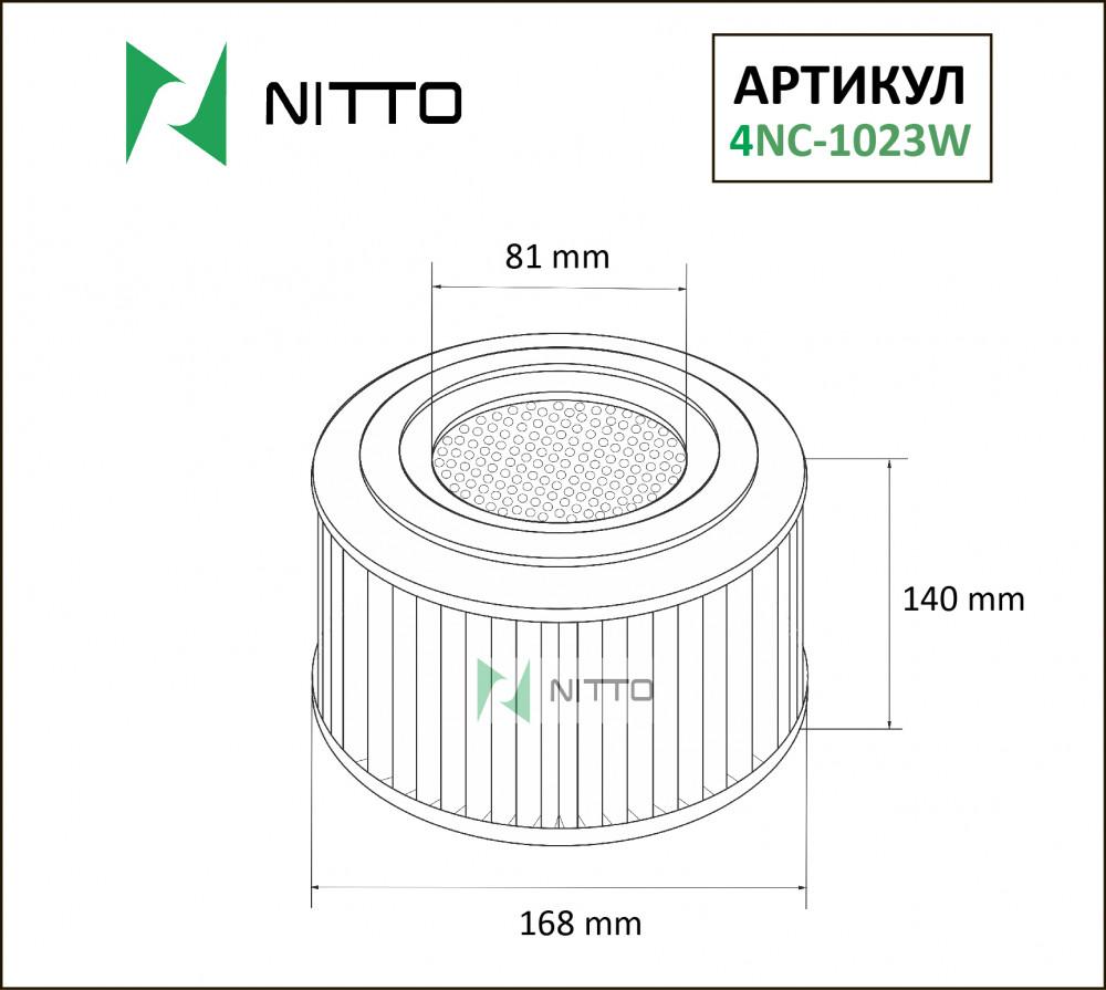 Фильтр воздушный Nitto 4NC-1023W 4NC-1023W купить в Абакане