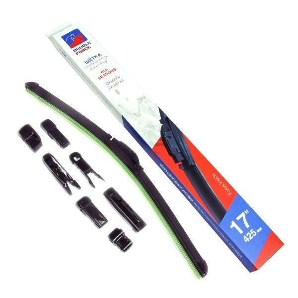 Щетка стеклоочистителя бескаркасная Double Force 425 мм (17) DFF17 купить в Абакане