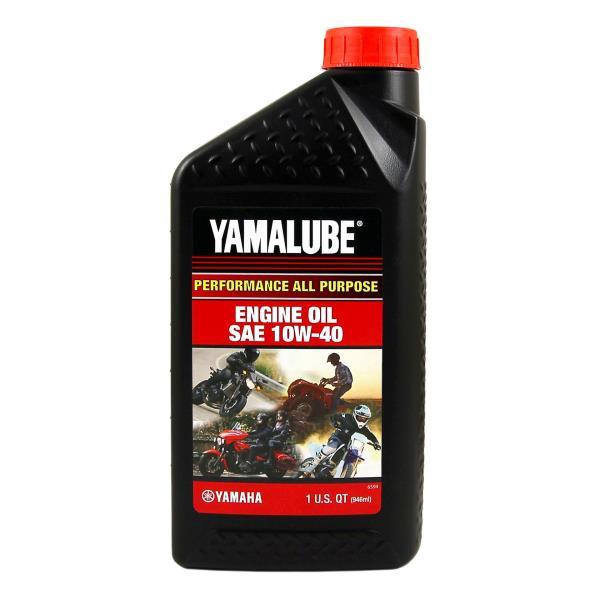 Моторное масло Yamalube 10W-40, Performance Mineral Oil (0, 946 л) LUB10W40AP12 купить в Абакане