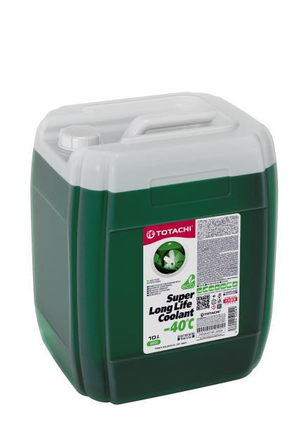 Жидкость охлаждающая низкозамерзающая TOTACHI SUPER LONG LIFE COOLANT Green -40C 10л 4589904520549 купить в Абакане
