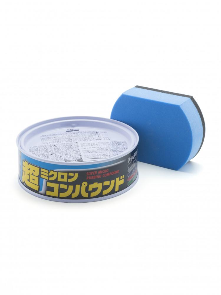 Полироль абразивный мелкий Soft99 Micro Rubbing Compound для темных, 180 гр 09054 купить в Абакане