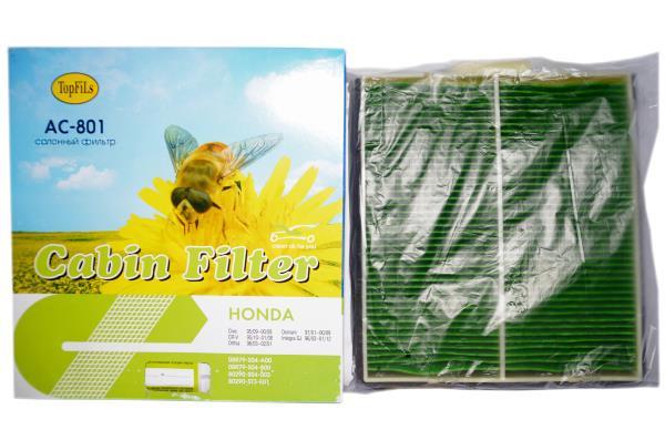 Фильтр салонный TOP FILS AC-801 AC-801 купить в Абакане