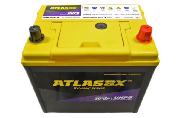 Аккумулятор ATLAS UMF, CCA700, 75АЧ, 95D23L UMF95D23L купить в Абакане